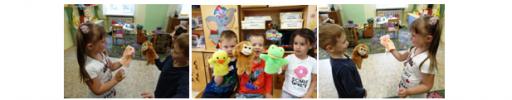 Куклы помогают говорить