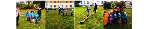 Наши воспитанники — участники первого турслета дошкольников!