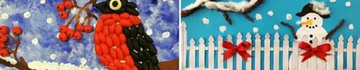 Работы детей на всероссийский конкурс «Волшебница зима — 2020»