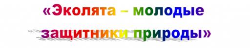 Мероприятия в рамках Всероссийского урока «Эколята – молодые защитники природы»